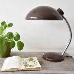 Vintage retro bureaulamp Bauhaus stijl jaren 60