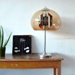 vintage retro mushroom tafellamp jaren 70