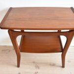 vintage retro midcentury design sidetable Louis Teeffelen teakhout
