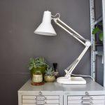 Vintage architectenlamp retro lamp