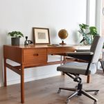 Vintage Danish design Desk Arne wahl Iversen Mid-century modern