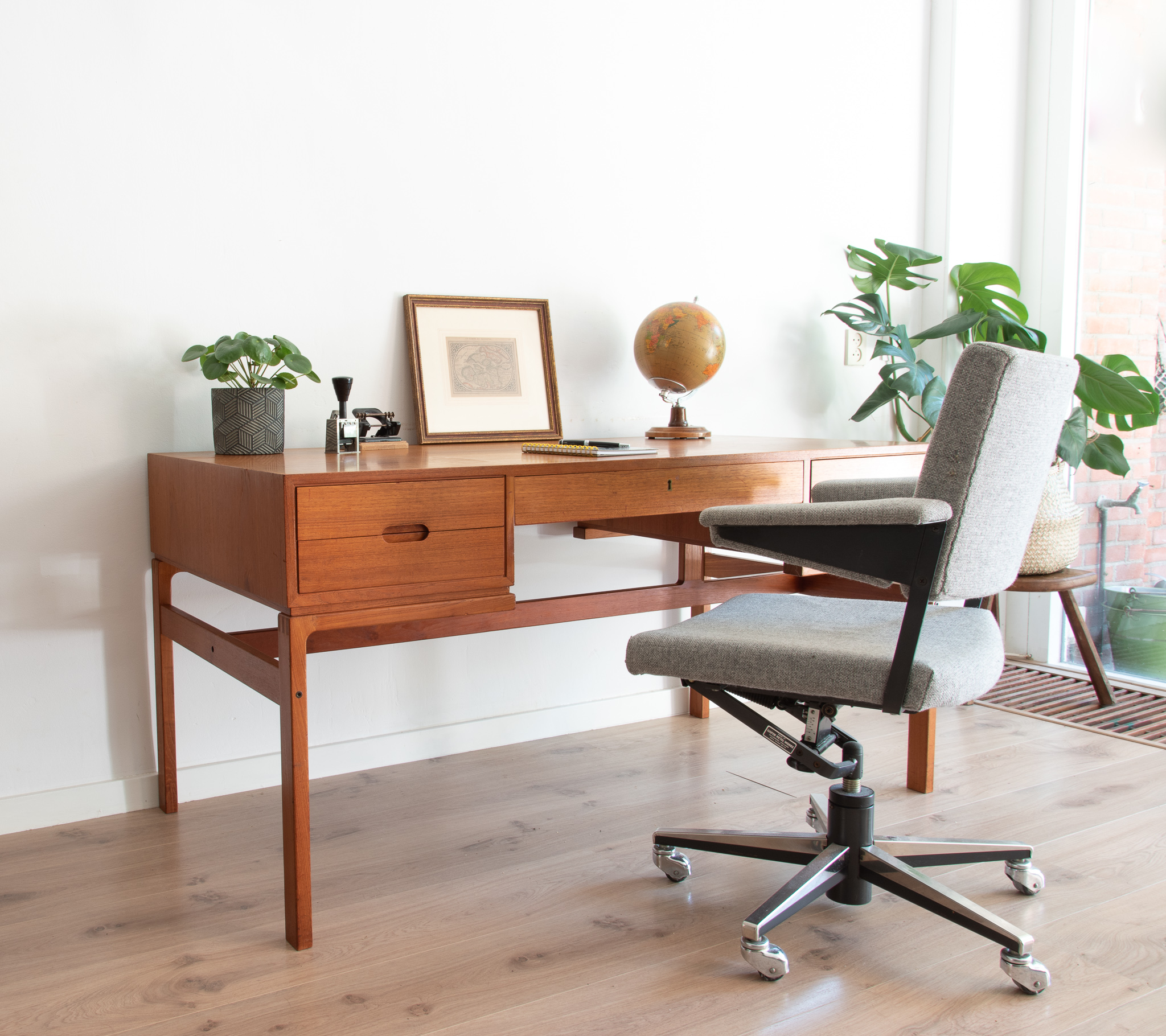 Originele Gispen Bureaustoel.Workspace Design Variavintage