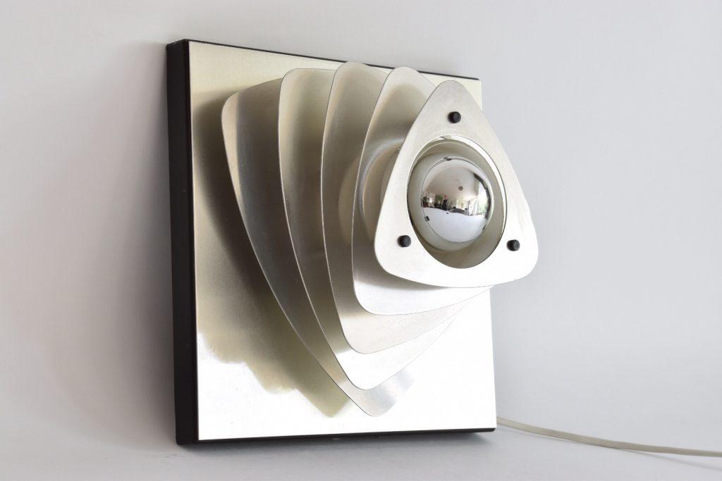 vintage, design wandlamp, Hustadt Leuchten, 1965